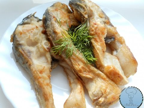 Ням - нямки: Жаренный толстолобик , соус тар-тар, корж