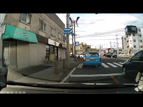 函館のタクシーは荒いです。
