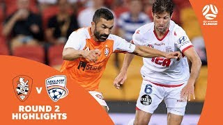 Hyundai A-League 2017/18 Round 2: Brisbane Roar 1 - 2 Adelaide United