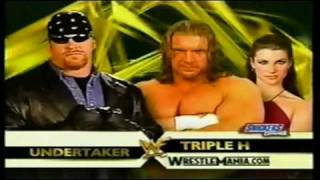 WWF Wrestlemania X-Seven Matchcard