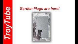 New items - Garden Flags