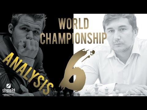 Karjakin - Carlsen Game 6 World Chess Championship 2016 | Grandmaster Analysis