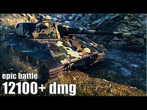 ЭПИК БОЙ E 50 Ausf. M против Об. 268/4