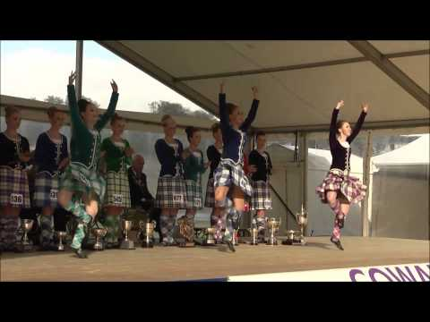 Cowal Highland Gathering 2014 - World Highland Dancing Champions