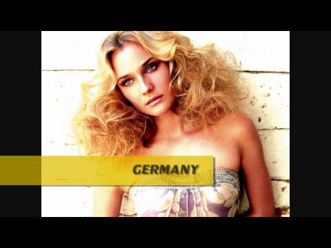 GERMANY VS SPAIN VS UNITED KINGDOM VS ARGENTINA [FAMOUS WOMEN] BEAUTY