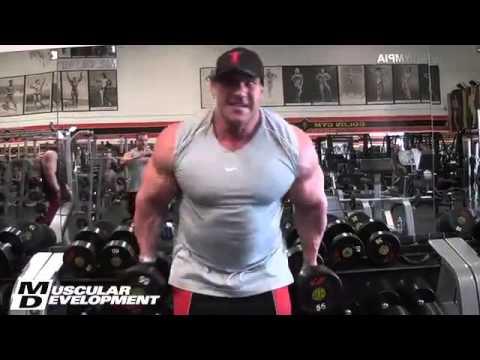 Jay Cutler Arms Jay Cutler Arm Training 2013