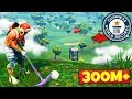 The GOLF SHOT WORLD RECORD in Fortnite Battle Royale