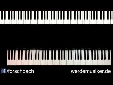 All of me John Legend - Piano Tutorial deutsch - Teil 4 - german