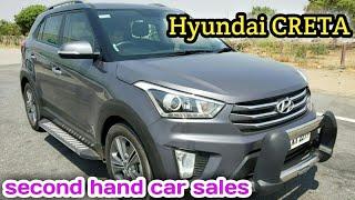 Hyundai CRETA 2018 Second hand car sales in namakkl