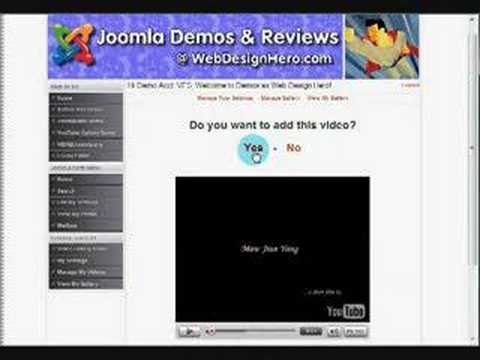 YouTube Gallery for Joomla