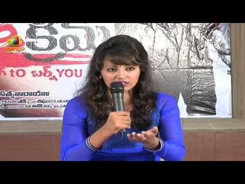 Tejaswi Madivada Clears The Controversy About Being Nude In Ice Cream - Rgv, Navdeep video