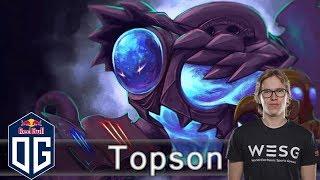 OG.Topson  -VS-  inYourdreaM - Ranked Match - OG Dota 2.