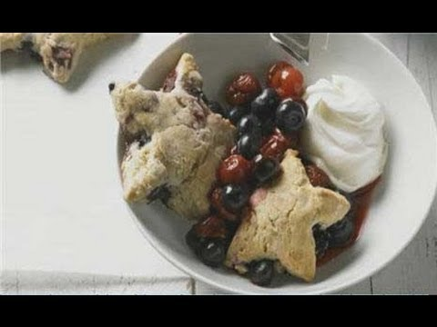 Independence Day Cherry Berry Shortcake Stars Recipe