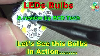 [Hindi-Audio]-LEDs Bulbs: Superior,Tear Down,  Working and Power Saving