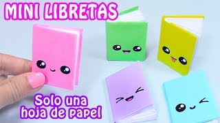download musica MINI LIBRETAS CON SOLO UNA HOJA DE PAPEL - DIY REGRESO A CLASES