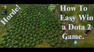 HOW TO EASY WIN A DOTA 2 GAME (with Chen and Lone Druid)