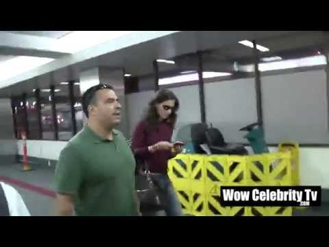 Katie Holmes Spotted at LAX Airport
