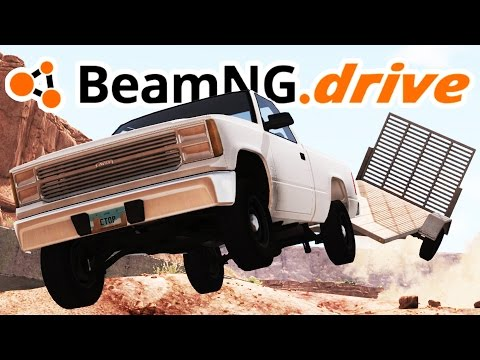 BeamNG.drive Gameplay - A Rocky Start Campaign! - Let's Play BeamNG.drive