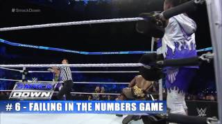 Top 10 SmackDown moments  WWE Top 10,  July 9, 2015