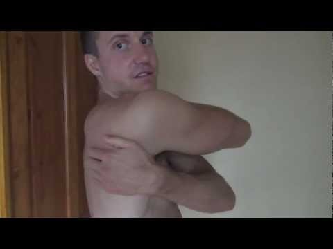 Pain in front of shoulder - Self Massage - Rotator Cuff Trigger Points
