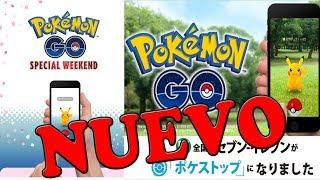POKEMON GO NUEVO EVENTO ESPECIAL WEEKEND EXPLICADO