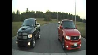 Lightning vs SRT-10 by S.I.M.C. Productions
