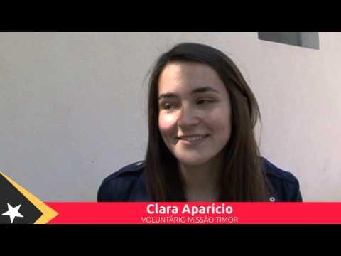 Clara Aparicio - Missão Timor 2015