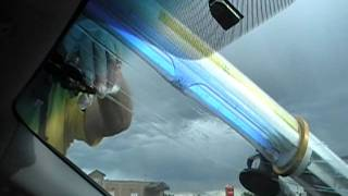 How to Repair a Long Crack in a Windshield by Crack Eraser