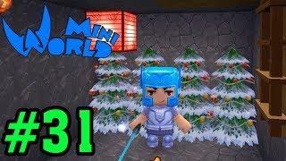 CĂN HẦM BÍ MẬT DƯỚI LÒNG ĐẤT | Mini World #31| Top Game Giống Minecraft