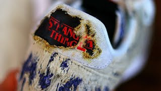 5 SECRET DETAILS YOU MISSED NIKE x STRANGER THINGS UPSIDEDOWN SHOES!