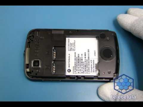 Tutorial de Desmontagem Motorola Ex115. EX112