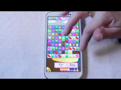 Candy Crush Saga Android Review on Galaxy S3