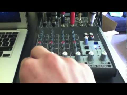 Behringer xenyx 802 - Review and sound setup