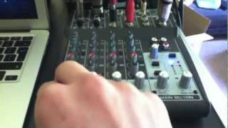 01. Behringer xenyx 802 - Review and sound setup