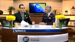 Bt Vancouver: Kyle And Riaz Chat About Daffodil Month