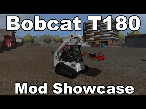 Farming Simulator 2013: Bobcat T180 Skid Steer Loader - Mod Showcase