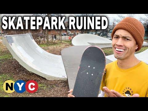 When Skateparks Hire Cheap Builders...