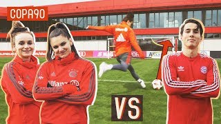 Amateur vs Bayern Munich Pros! | Shooting Challenges: Timbsy vs The World