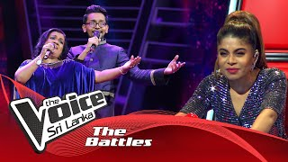 The Battles : Harith Wijerathne V Ganga Ekanayaka  | Sandak Nagi The Voice Sri Lanka