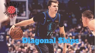 Luka Dončić - Dallas Mavericks - Diagonal Skips