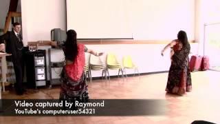 Bollywood Dance - Chamma Chamma / Chudiyan Chanak Gayi - Dona & Eva