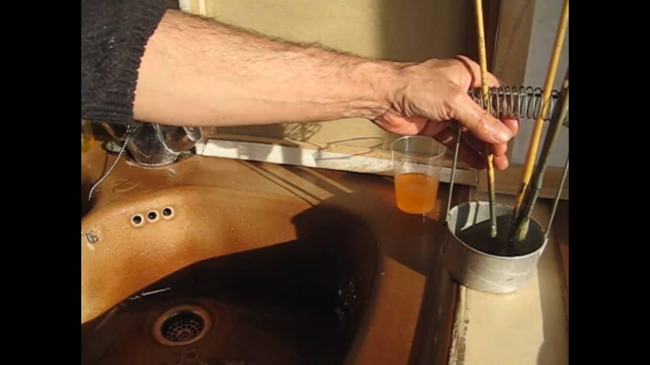 Cours de peinture l 39 huile comment nettoyer simplement ses pinceaux youtube - Comment nettoyer de l argenterie noircie ...