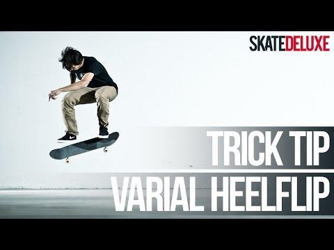 Varial Heelflip | Skateboard Trick Tip | Français/French | skatedeluxe
