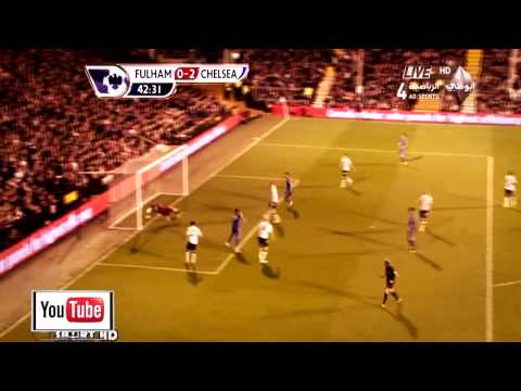 Fulham Vs. Chelsea 0-3 All Goals And Highlights 17/4/13 HD