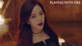 BLACKPINK   火遊びPLAYING WITH FIRE Japanese Full ver  日本版M V【歌詞付き】