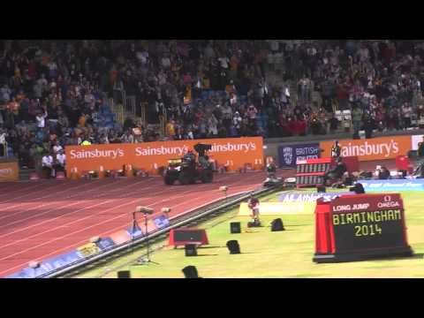 Mo Farah European 2 mile record