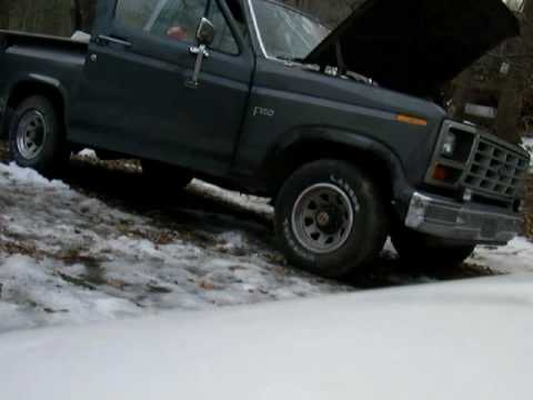 1986 Ford F150 300 4.9L I6 Straight Pipe Exhaust