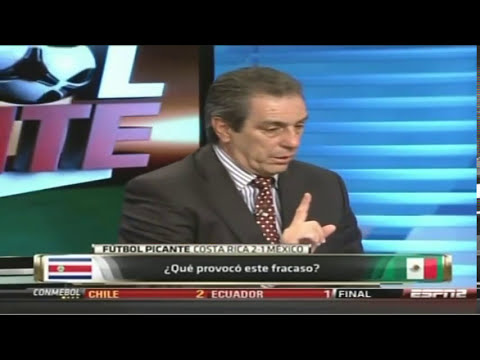 1/2 Faitelson en Futbol Picante, Costa Rica 2 Mexico 1 Eliminatorias Concacaf 15Oct2013