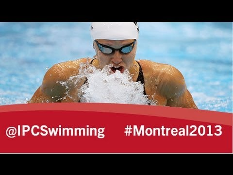 2013 IPC Swimming World Championships Montreal, Wednesday 14 August, evening session