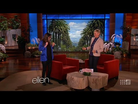 Ellen Page 5/27/2014 (Full Interview - Complete with Dancing!)